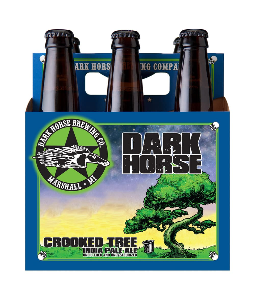 Dark Horse Crooked Tree 6 pack beer carrier