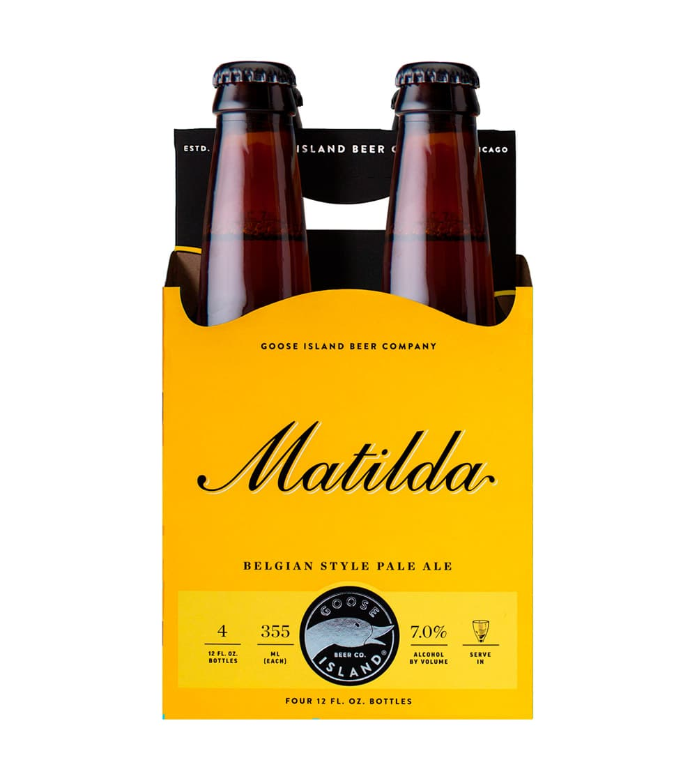 6ix pack carrier 4 pack goose island matilda beer carrier pronofoot35fo Gallery