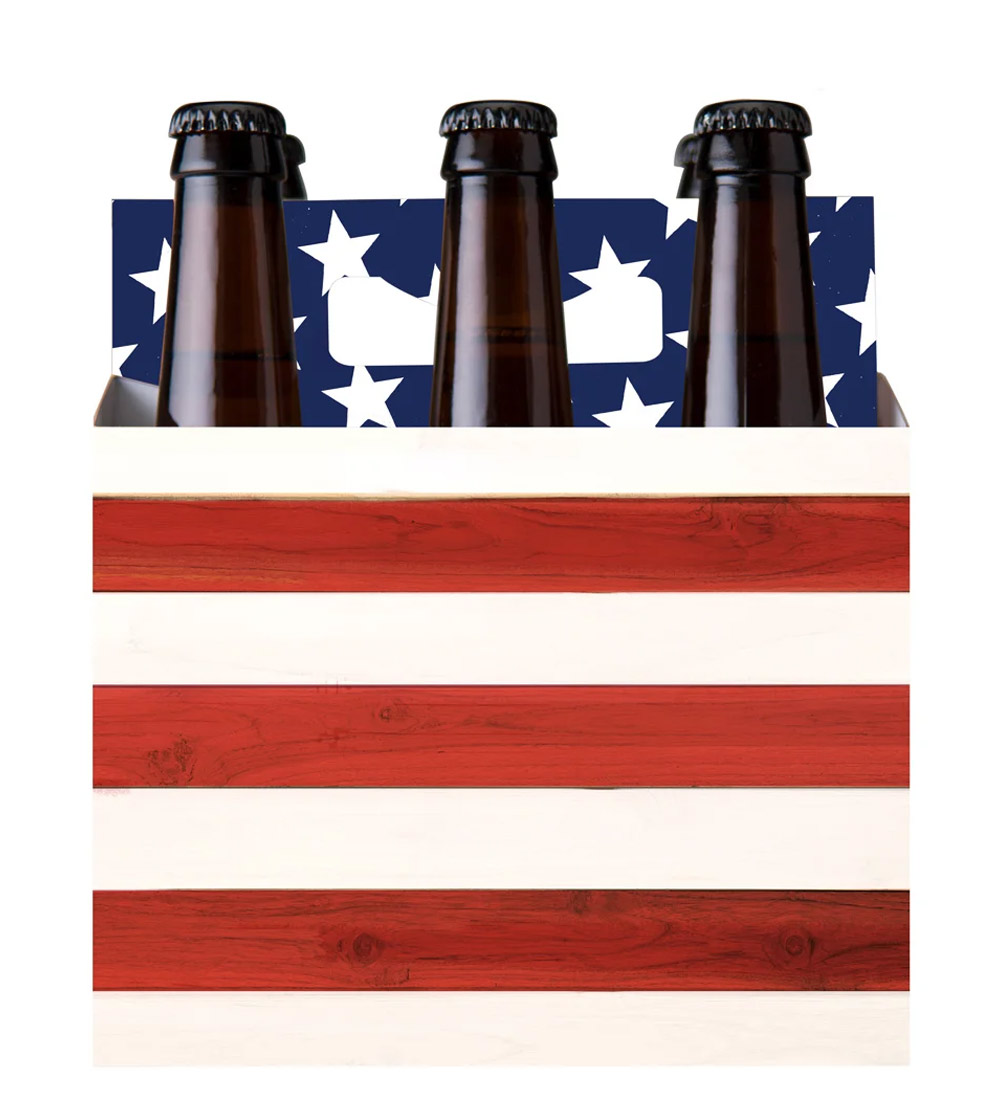 six pack beer carrier promo